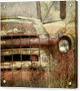 Old And Rusted Acrylic Print