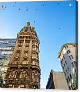 Old Apartment Building Acrylic Print