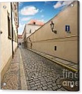 Old Architecture In Prague Acrylic Print