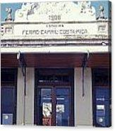 Old Atlantic Railway Station San Jose Costa Rica Acrylic Print