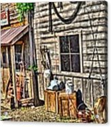 Old Bait Shop And Antiques Acrylic Print