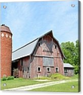 Old Barn 8008 Acrylic Print