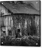 Old Barn Acrylic Print by Bill Wakeley