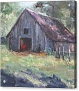 Old Barn In Arkansas Acrylic Print