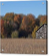 Old Barn In Armada Acrylic Print