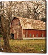 Old Barn Near Rhineland Mo Dsc09267 Acrylic Print