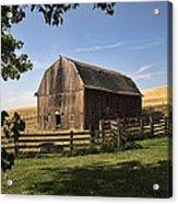 Old Barn On The Palouse Acrylic Print