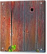 Old Barn Wood Acrylic Print