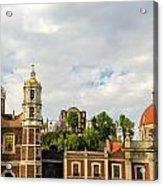 Old Basilica Of Guadalupe Acrylic Print
