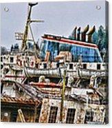 Old B.c. Ferry Acrylic Print