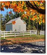 Old Bethel Church 1842 Acrylic Print by Dan Friend