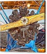 Old Biplane Acrylic Print