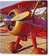 Old Biplane I I I Acrylic Print
