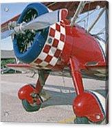 Old Biplane V Acrylic Print