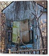 Old Blue Shack Acrylic Print