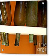 Old Bottles Acrylic Print