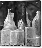 Old Bottles Two Acrylic Print