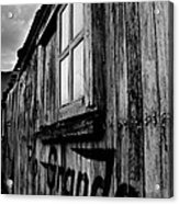 Old Box Car Acrylic Print