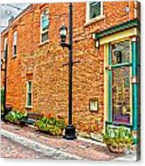 Old Brick Acrylic Print by Baywest Imaging