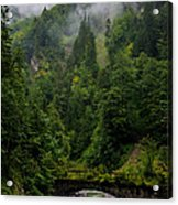 Old Bridge - Austrian Alps - Austria Acrylic Print