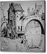 Old Bridge Acrylic Print
