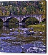 Old Bridge Two Acrylic Print