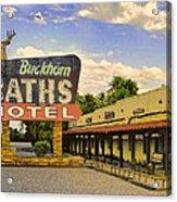 Old Buckhorn Baths Acrylic Print