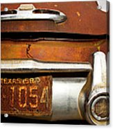 Old Buick Acrylic Print by Mark Weaver