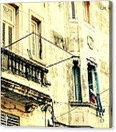 Old Building Facade Acrylic Print