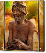 Old Bushman Acrylic Print