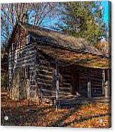 Old Cabin In The Woods Acrylic Print
