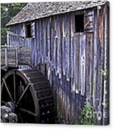 Old Cades Cove Mill Acrylic Print