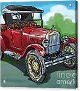 Old Car 04 Acrylic Print