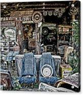 Old Car City Acrylic Print