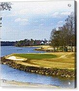 Old Carolina Golf Club Acrylic Print
