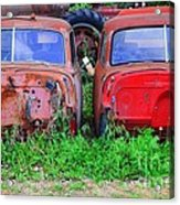 Old Cars Acrylic Print