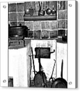 Old Cast Iron Cooking Acrylic Print