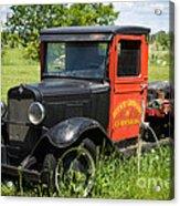 Old Chevrolet Truck Acrylic Print