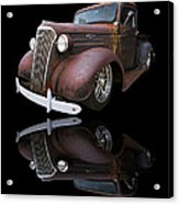 Old Chevy Acrylic Print by Debra and Dave Vanderlaan