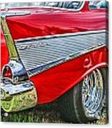 Old Chevy Acrylic Print