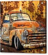 Old Chevy Rust Acrylic Print