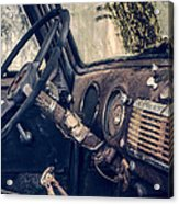 Old Chevy Truck Acrylic Print