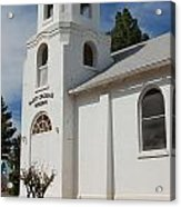 Old Church Building Acrylic Print