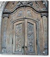 Old Church Door Acrylic Print