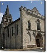 Old Church - Loire - France Acrylic Print