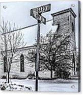 Old Church Acrylic Print