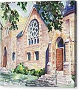 Old Church Acrylic Print by Svetlana Howe