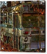 Old City Bus Acrylic Print by Paul Herrmann