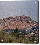 Old City Of Dubrovnik  Acrylic Print