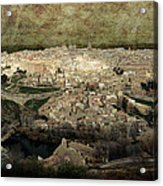 Old City Of Toledo Acrylic Print